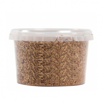 Accessori per Barman ,Affumicare con legno Apple wood chips 500 ml