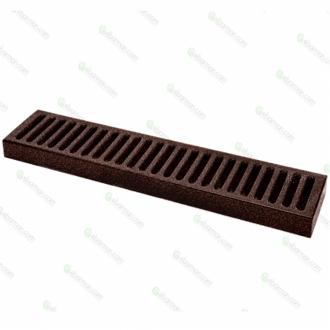 Bar Mat e Tappetini ,Bar mat in acciaio inox 18/9 Old Bronze 50x10,5 cm