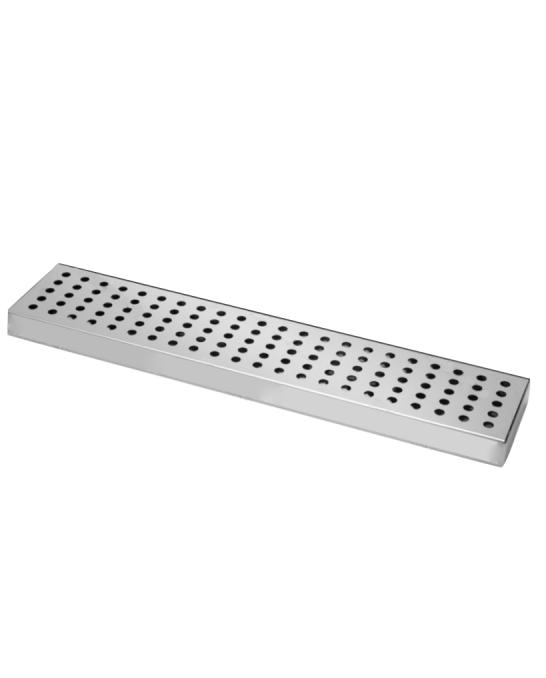 Bar Mat e Tappetini ,Bar mat in acciaio inox ebarman MAC2 50x10.5 cm
