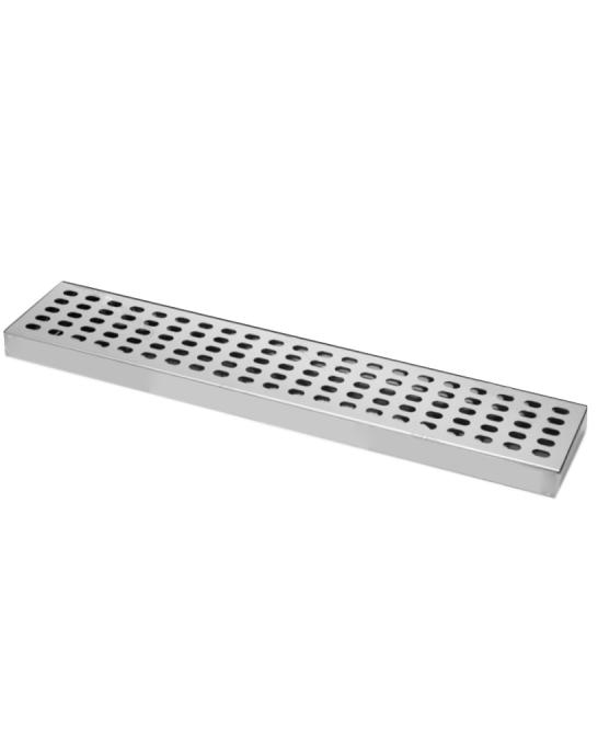 Bar Mat e Tappetini ,Bar mat in acciaio inox ebarman MAC3 50x10.5 cm