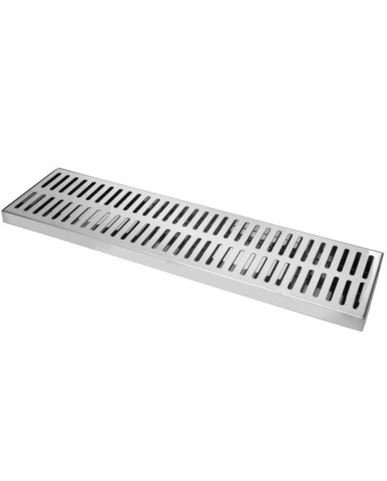 Bar Mat e Tappetini ,Bar mat in acciaio inox ebarman MAC5 Large Work 75x20 cm