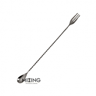 Bar Spoon,Bar Spoon Mixing Trident Canna di Fucile 30 cm