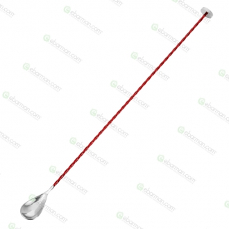 Bar Spoon ,Bar Spoon Stiff 40 cm Rosso Rubino
