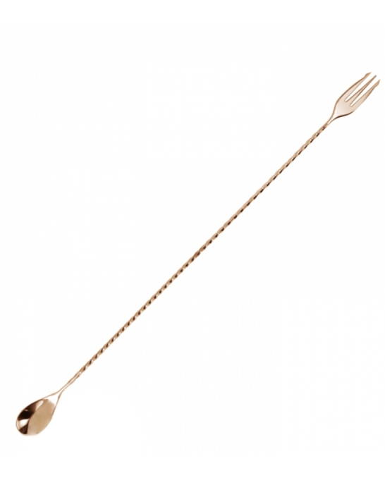Bar Spoon,Bar spoon Trident Rose Gold 45 cm