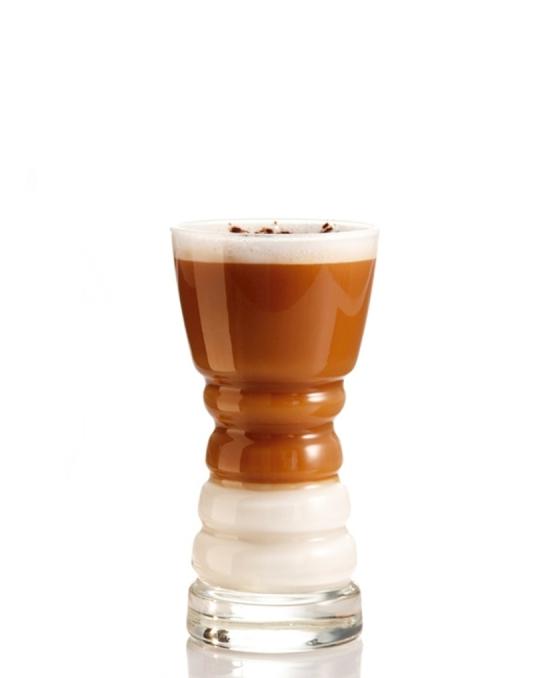 Caffetteria e Latte Art ,Bicchiere Barista 22 cl 6 bicchieri
