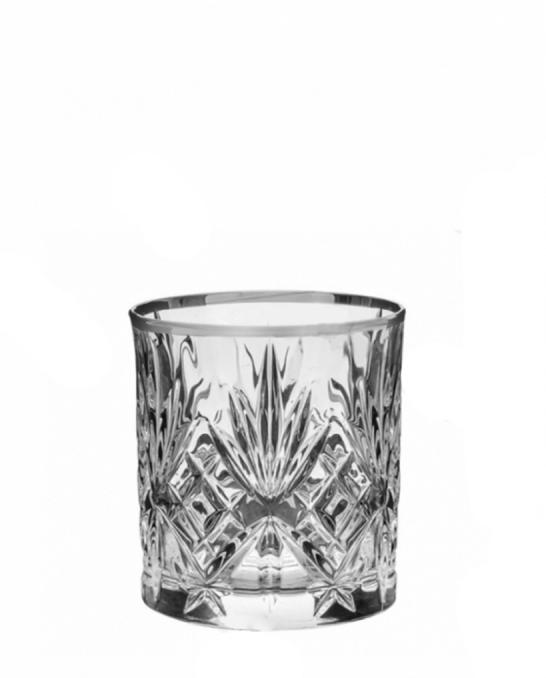 Bicchieri RCR ,Bicchiere Melodia RCR Platinum 31 cl 6 pezzi