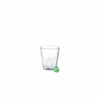 Bicchieri in Plastica ,Bicchiere monouso Plastica Morbida Isap 25 cc Trasparente
