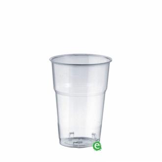 Bicchieri in Plastica ,Bicchiere monouso Plastica Morbida Isap 250 cc Trasparente