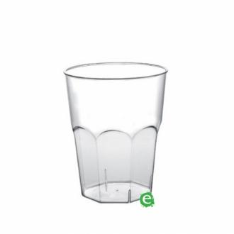 Bicchieri in Plastica ,Bicchiere monouso Plastica Morbida Isap 310 cc Trasparente