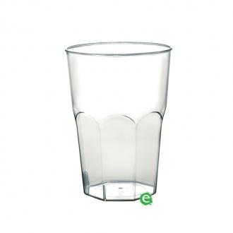 Bicchieri in Plastica ,Bicchiere monouso Plastica Morbida Isap 350 cc Trasparente