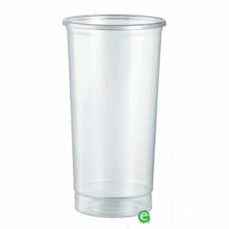 Bicchieri in Plastica ,Bicchiere monouso Plastica Morbida Isap 355 cc Trasparente