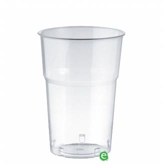 Bicchieri in Plastica ,Bicchiere monouso Plastica Morbida Isap 400 cc Trasparente