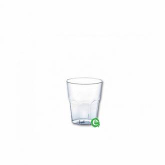Bicchieri in Plastica ,Bicchiere monouso Plastica Morbida Isap 50 cc Trasparente