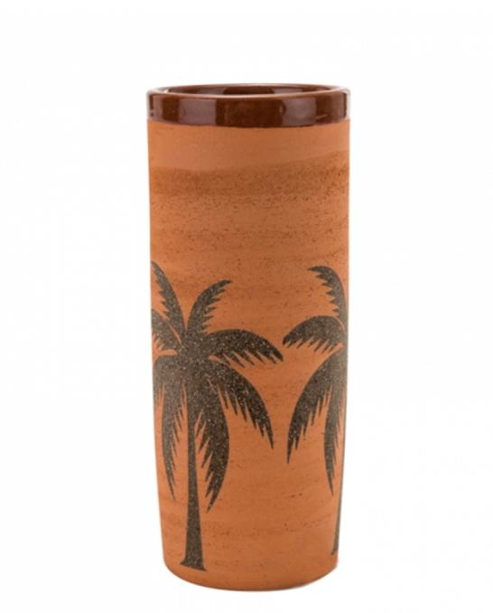 Mug,Bicchiere Mug in Terracotta grezza con Palme 40 cl