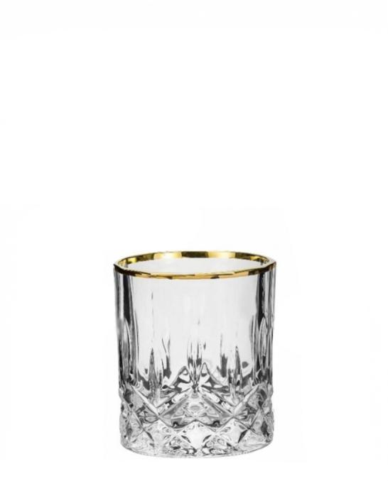 Bicchieri RCR ,Bicchiere Opera RCR Oro 21 cl 6 pezzi