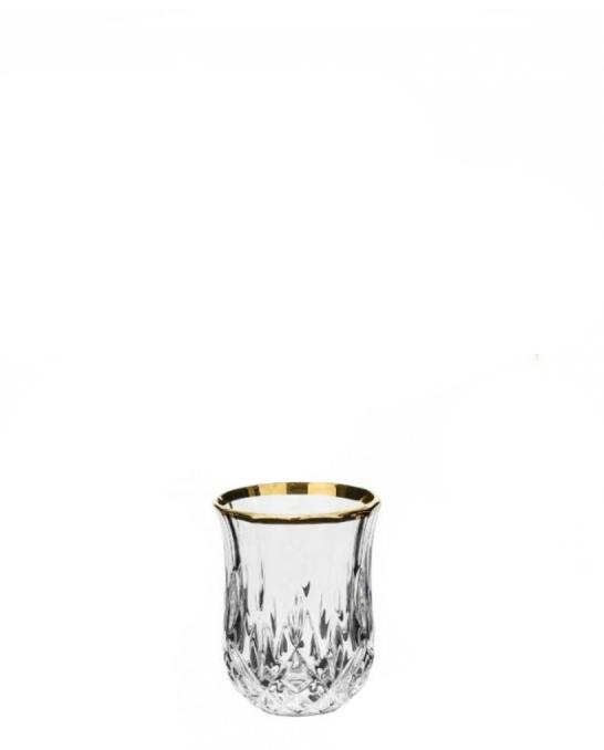 Bicchieri RCR ,Bicchiere Opera RCR oro 6 cl 6 pezzi