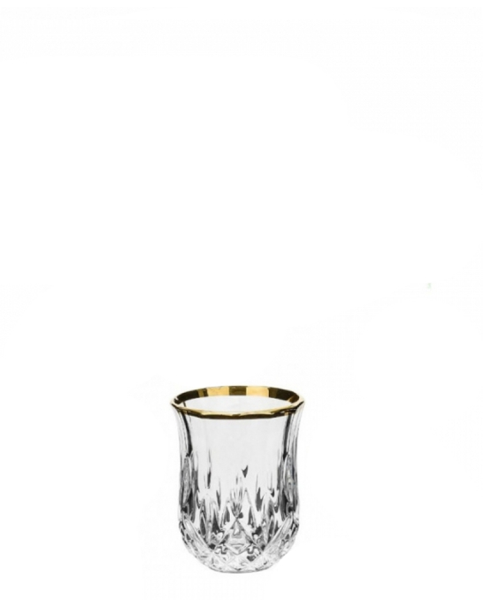 Bicchieri RCR ,Bicchiere Opera RCR oro 6 cl 6pz