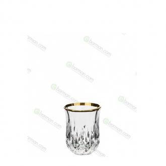 Bicchieri RCR,Bicchiere Opera RCR oro 6 cl 6pz