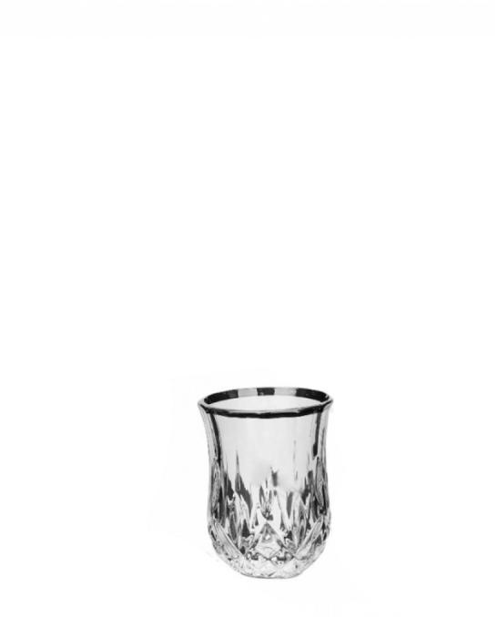 Bicchieri RCR ,Bicchiere Opera RCR Platinum 6 cl 6 pezzi