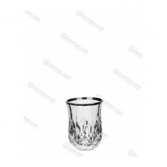 Bicchieri RCR,Bicchiere Opera RCR Platinum 6 cl 6pz