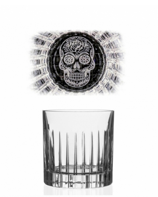 Bicchieri RCR ,Bicchiere Skull Mexican Timeless31 cl 6pz
