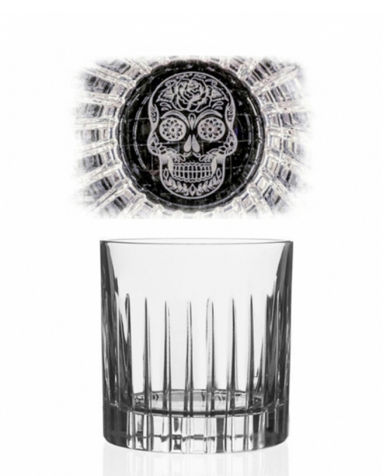 Bicchieri RCR ,Bicchiere Skull Mexican Timeless 36 cl 6pz