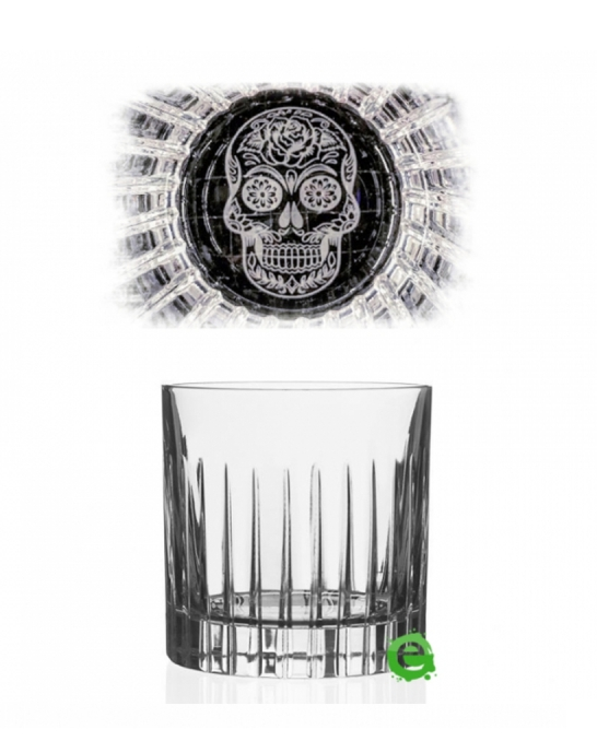 Bicchieri RCR ,Bicchiere Skull Mexican Timeless RCR 31 cl 6pz