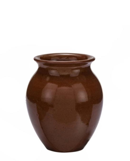 Mug,Bicchiere Vaso Mug in terracotta lucida 35 cl