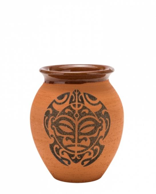 Mug,Bicchiere Vaso Mug Turtle in terracotta grezza 43 cl