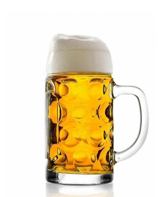 Bicchieri Birra ,Boccale Birra Isar 50 cl 6 pezzi