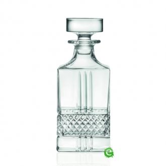 Bicchieri RCR  ,Bottiglia Brillante RCR Whisky 85 cl