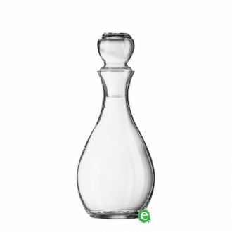 Bicchieri da Cocktail ,Bottiglia Elegance in vetro cristallino 1 lt