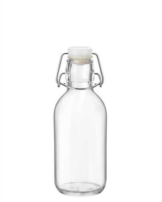 Bitters Bottle,Bottiglia Emilia con tappo ermetico 50 cl