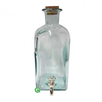 Botti e Alambicchi ,Bottiglia in vetro con rubinetto 200 cl