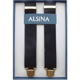 Abbigliamento per Barman ,Bretelle colore nero clip dorata