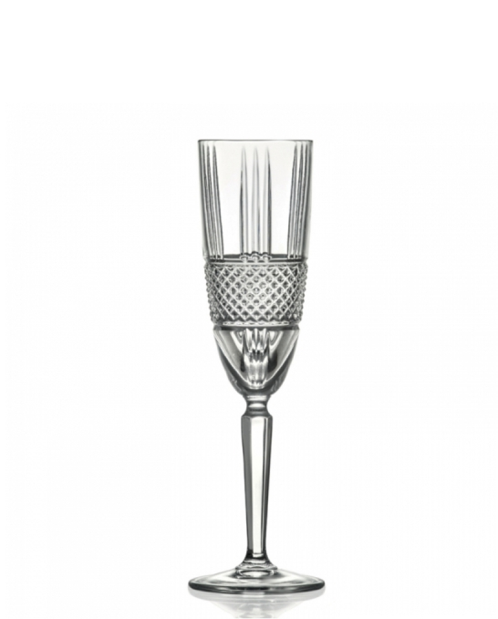 Bicchieri RCR ,Calice Brillante Flute RCR 18.5 cl 6pz