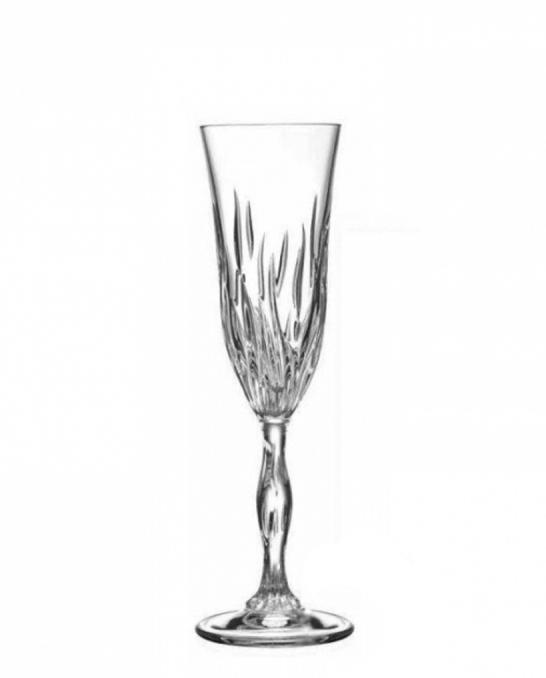 Bicchieri RCR ,Calice Fire RCR Flute 20 cl 6 pezzi