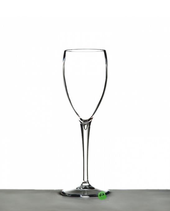 Bicchieri in Plastica ,Calice flute in Policarbonato trasparente 17 cl 4pz