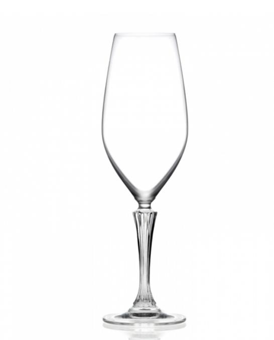 Bicchieri RCR ,Calice Glamour Flute RCR 44 cl 6 pezzi