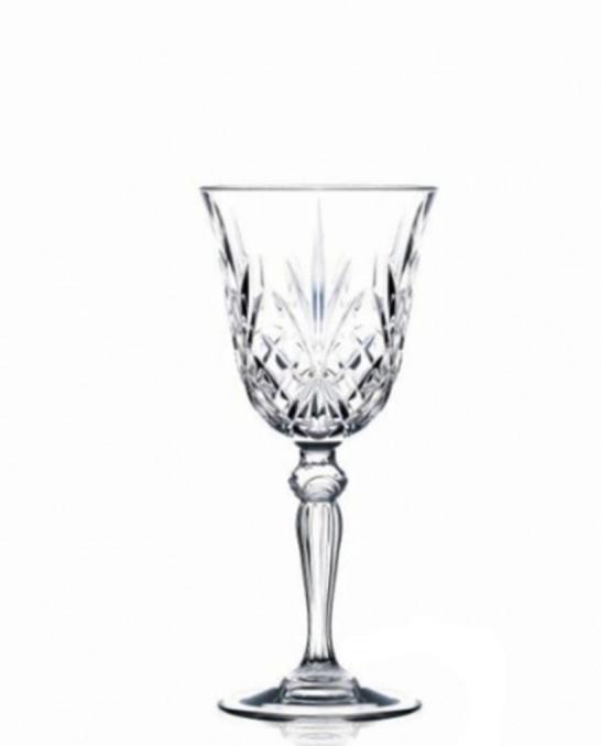 Bicchieri RCR ,Calice Melodia RCR Acqua 27 cl 6 pezzi