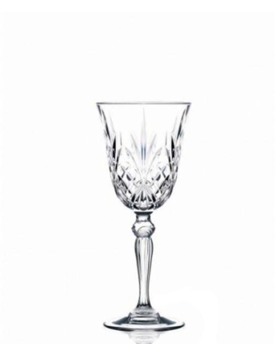 Bicchieri RCR ,Calice Melodia RCR Vino 21 cl 6 pezzi
