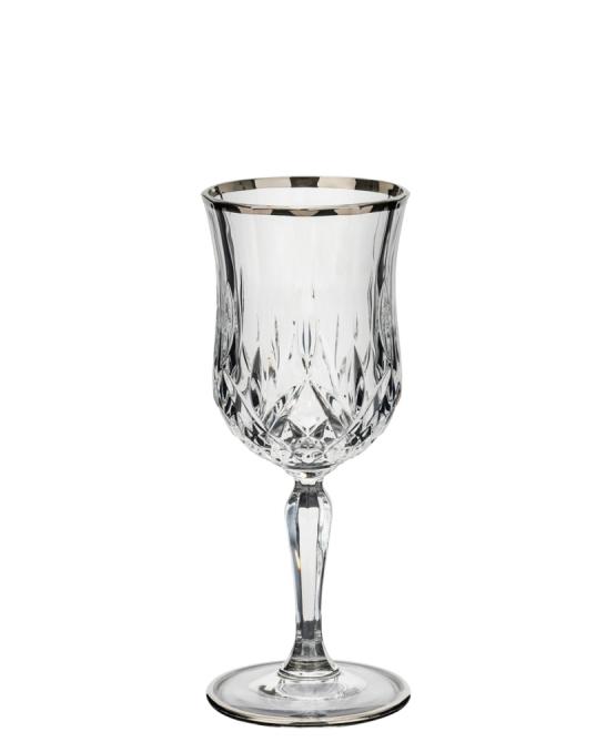 Bicchieri RCR ,Calice Opera RCR Acqua Platinum 23 cl 6 pezzi