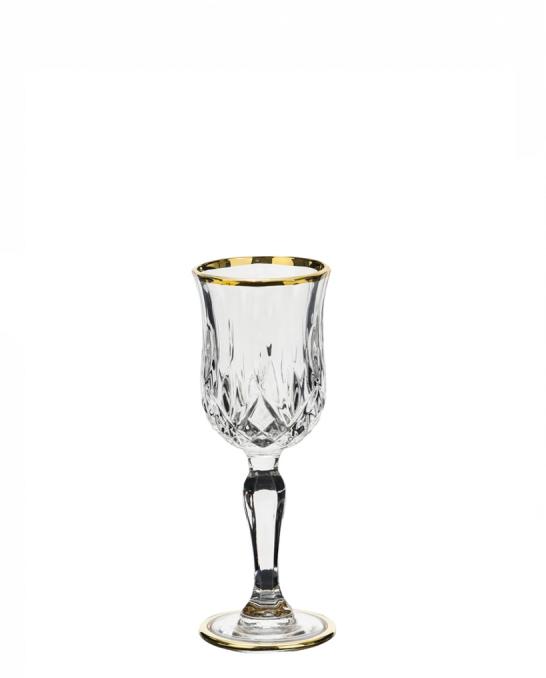 Bicchieri RCR ,Calice Opera RCR Liquore Oro 12 cl 6 pezzi