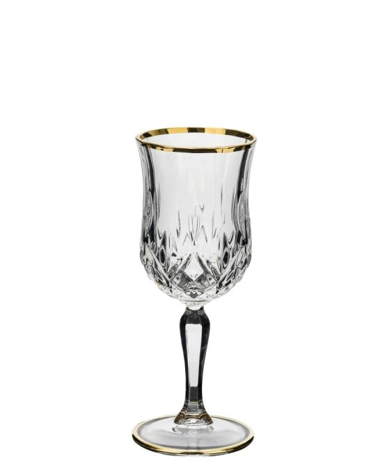 Bicchieri RCR ,Calice Opera RCR vino Oro 16 cl 6 pezzi