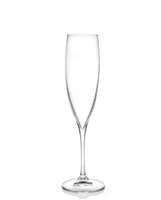 Bicchieri RCR ,Calice Wine Drop Flute RCR 24,1 cl 6 pezzi