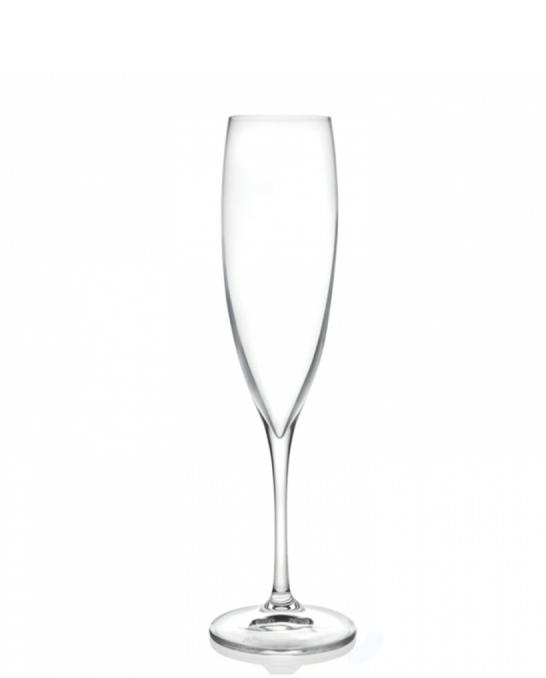 Bicchieri RCR ,Calice Wine Drop Flute RCR 24,1 cl 6pz