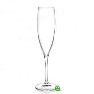 Bicchieri RCR,Calice Wine Drop Flute RCR 24,1 cl 6pz