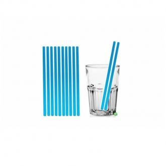 Cannucce e Tovaglioli ,Cannucce dritte colore Blu 21cm Conf.1000 pz