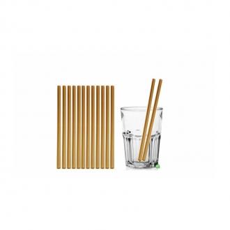 Cannucce e Tovaglioli ,Cannucce dritte colore Oro 21cm Conf.1000 pz