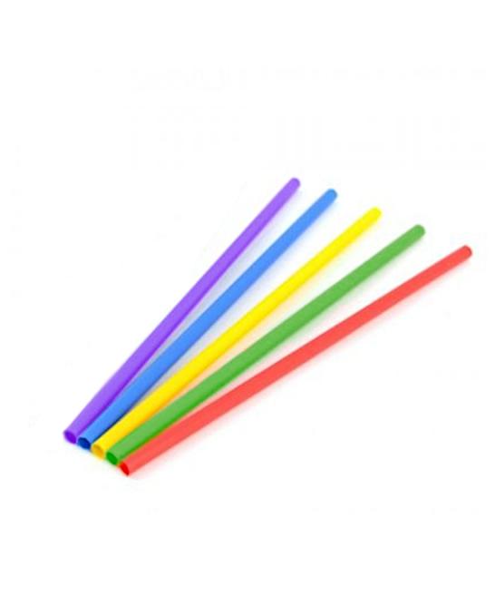 Cannucce e Tovaglioli ,Cannucce dritte in carta compostabili colori assortiti 20 cm 250 pz